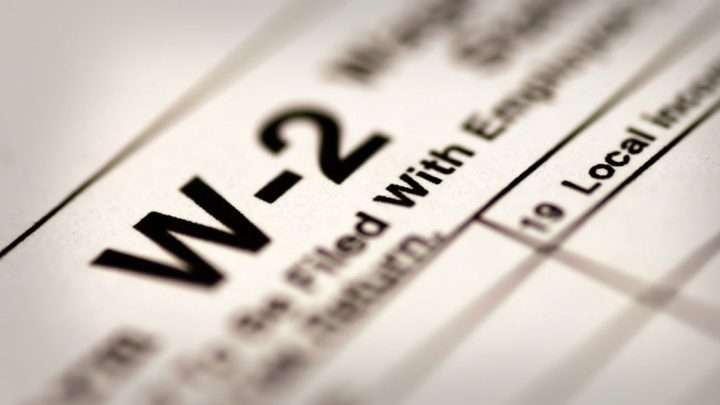 ¿No recibió su formulario W-2?