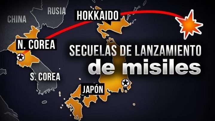 Califican de acto imprudente lanzamiento de misil sobre Japón