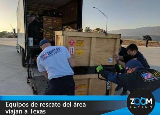 Rescatistas de nuestra área ayudarán en Texas
