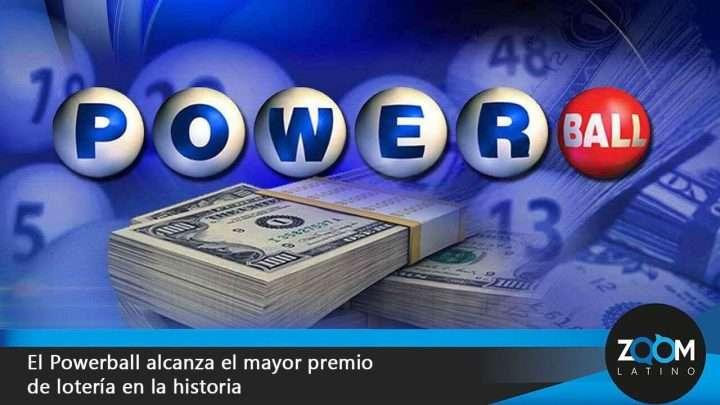 Histórica suma de lotería Powerball se sorteará hoy