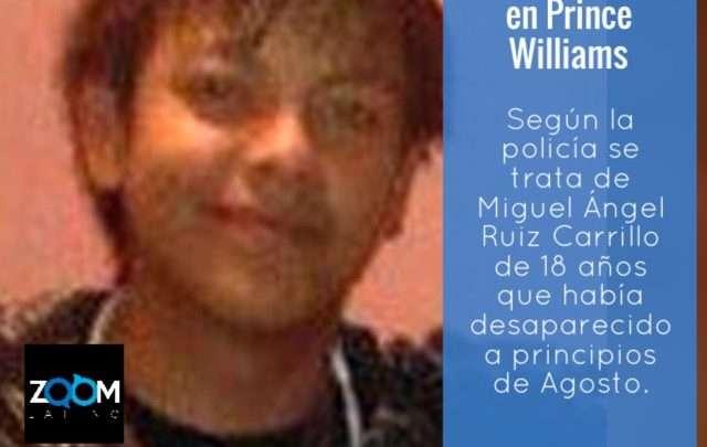 Encuentran los restos de muchacho desaparecido en Prince Williams