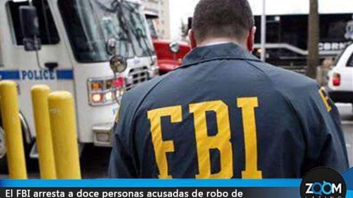 El FBI detiene a doce personas vinculadas con robo de tarjetas de crédito