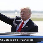 Donald Trump visitará la isla de Puerto Rico