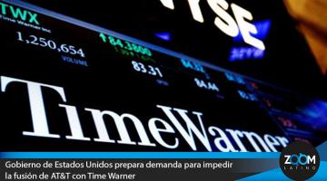 Gobierno de Estados Unidos prepara demanda para impedir fusión de AT&T con Time Warner