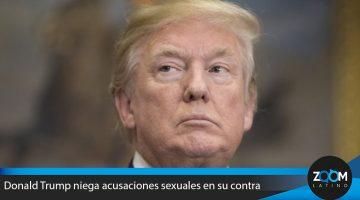 Donald Trump niega acusaciones sexuales en su contra