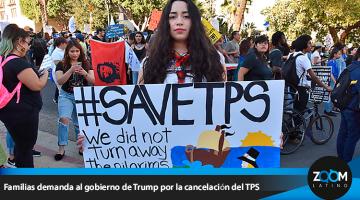 Amparados al TPS y sus hijos estadounidenses demandan al gobierno