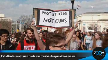 Escuelas se preparan para protestas masivas de estudiantes por las leyes de armas