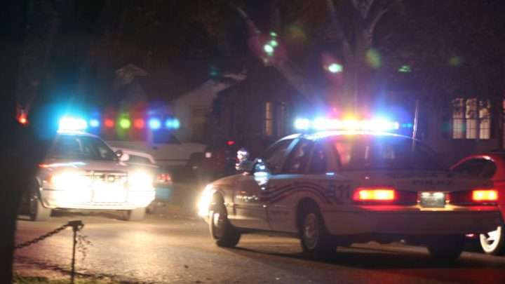 Autoridades buscan al sospechoso de dispararle a un vehículo en Virginia