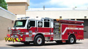 Mujer fallece en medio de un incendio en un motel de Fairfax