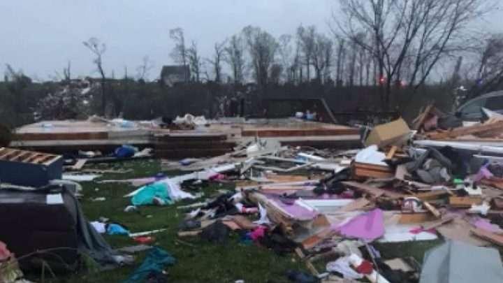 Tornado en Virginia deja grandes daños materiales y personas heridas