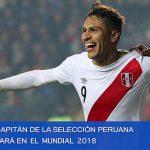 El jugador estrella de la Selección peruana de fútbol estará en el Mundial