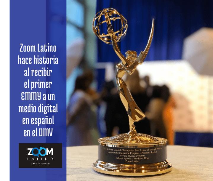 "Zoom Latino gana premio EMMY por la Revista Informativa ""Silvana Quiroz Presenta"""