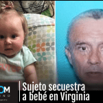 Presunto agresor sexual secuestra a bebé de meses en Virginia