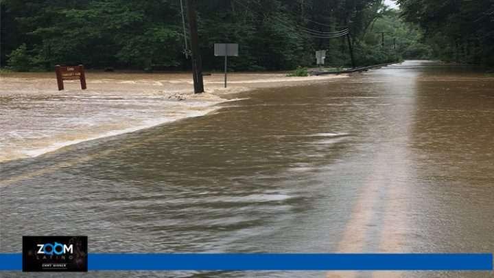 Continuan las inundaciones debido a las lluvias en el área