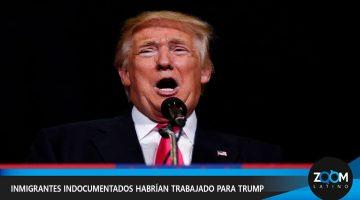INDOCUMENTADOS ERAN EMPLEADOS DEL PRESIDENTE TRUMP, SEGÚN INFORME