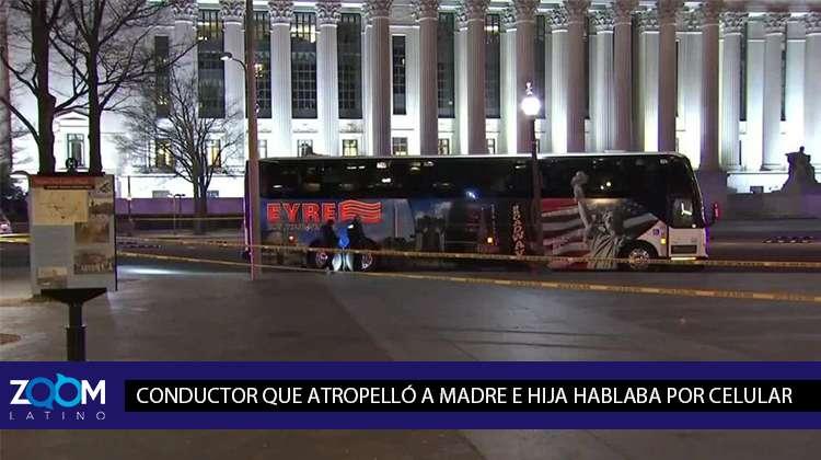 CONDUCTOR DE BUS QUE MATÓ A ALCALDESA DE ALASKA TENÍA CELULAR EN SUS MANOS