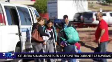 ICE LIBERA A CIENTOS DE DETENIDOS CON CASOS DE ASILO EN LA FRONTERA