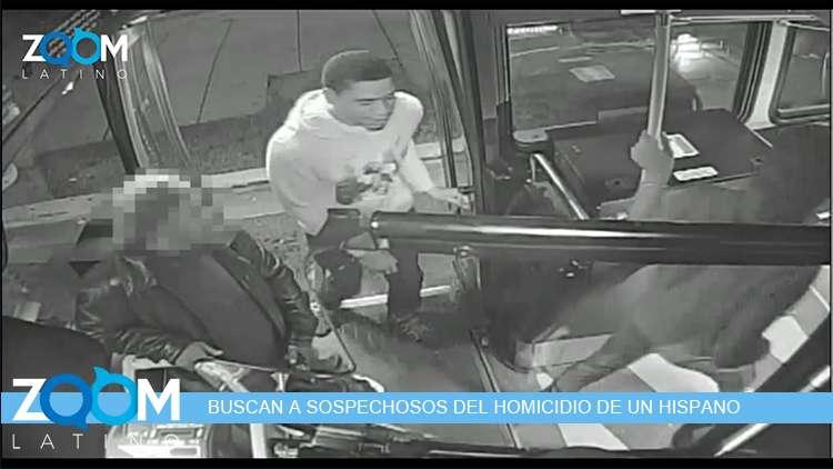 VIDEO   DETECTIVES BUSCAN SOSPECHOSOS DE ASESINATO DE UN HISPANO