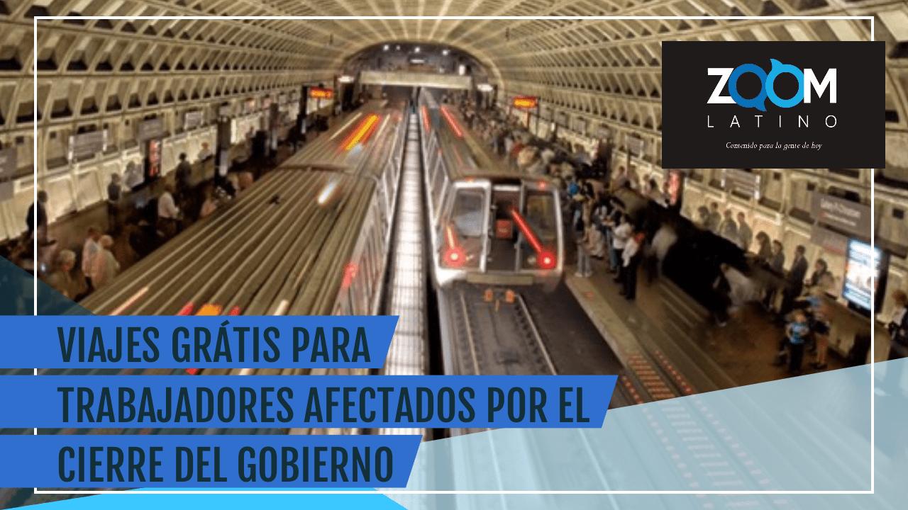 TRABAJADORES AFECTADOS POR EL CIERRE PODRÍAN VIAJAR GRÁTIS EN METRO