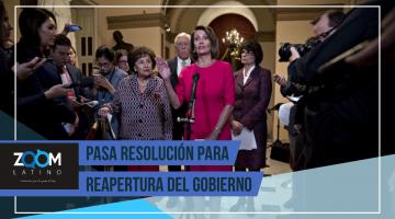 CÁMARA DE REPRESENTANTES APRUEBAN FONDOS PARA TRATAR DE REABRIR EL GOBIERNO