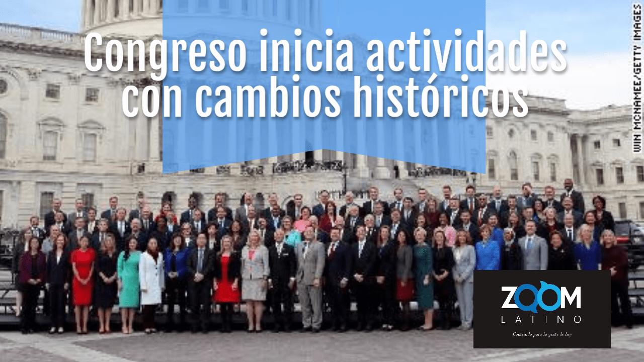Nuevas caras que hacen historia en el Congreso