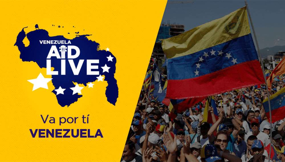 Se han recaudado más de 2 millones de dólares del concierto Venezuela Aid Live.