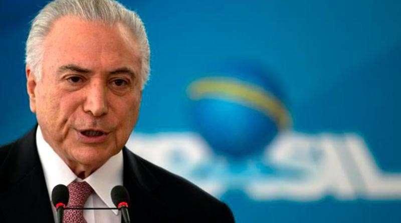 Graves acusaciones por corrupción enfrenta expresidente de Brasil.
