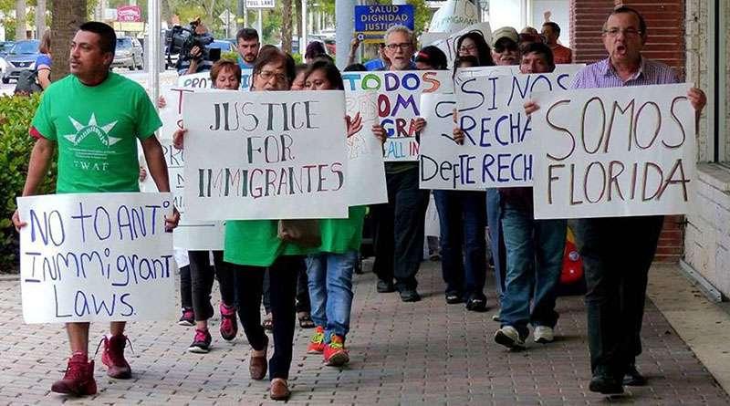 Advierten a inmigrantes que no viajen a la Florida.