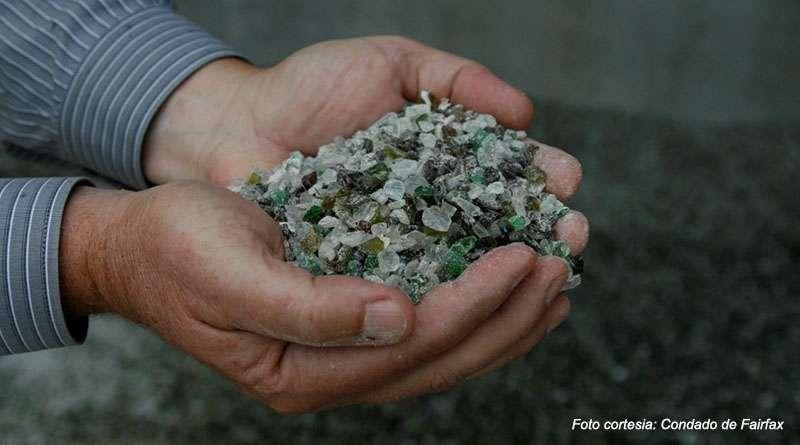 Alianza de gobiernos locales de Virginia para el reciclaje de vidrio.