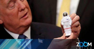 Trump quiere usar fondos de beca universitaria para financiar viaje a la Luna.