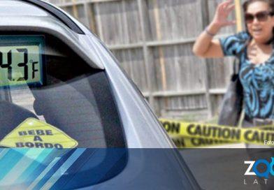 Con aumento en temperaturas, recuerdan a los padres los peligros de dejar bebés olvidados en el auto.