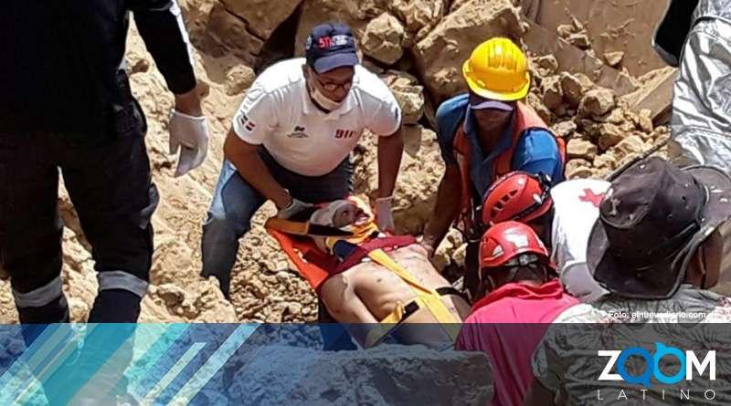 Ascienden a 5 las víctimas del colapso de una construcción en República Dominicana
