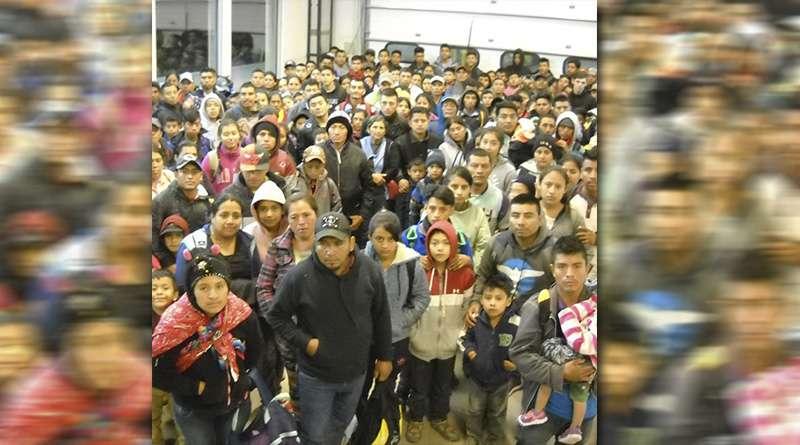 Arrestos masivos en la frontera: histórica detención de inmigrantes.
