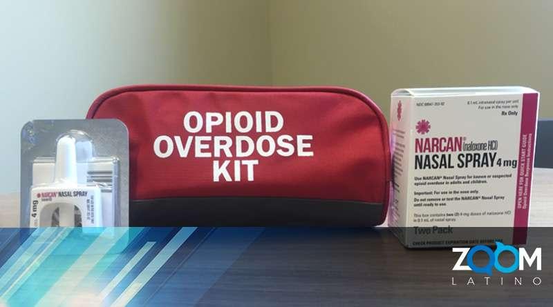 Programa de capacitación para sobredosis de opioides en el Condado Fairfax.