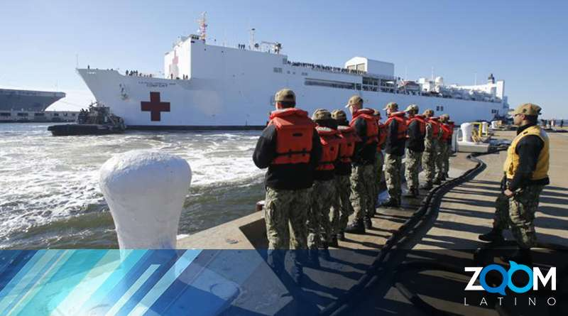 Buque hospital de EEUU recorrerá once países de América Latina.