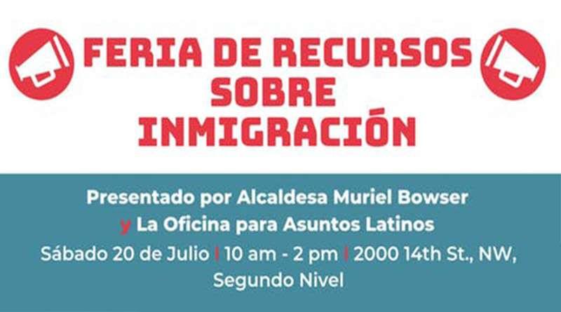 ¡Asiste a la gran Feria de Recursos de Inmigración y conoce tus derechos como inmigrante!