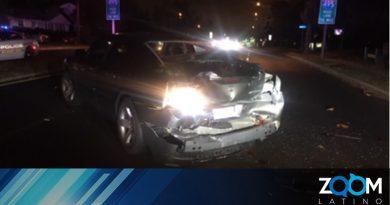 Oficial de la Fuerza de Tarea es golpeado por un conductor bajo efectos del alcohol