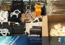 Oficiales de Aduanas y Protección Fronteriza confiscaron un cargamento de carteras falsas procedente de China