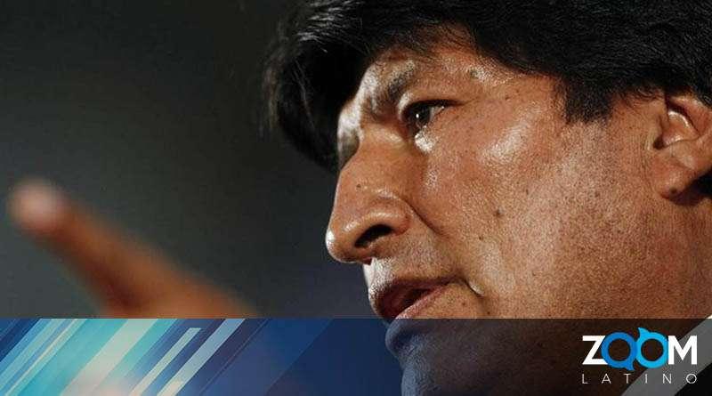 Evo Morales se pronuncia en su llegada a Ciudad de México