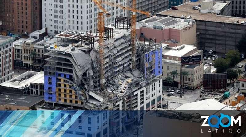 Deportado un trabajador que sufrió heridas tras el colapso de la contracción del Hard Rock Hotel en Nueva Orleans.