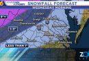 Se espera fuertes lluvias que se podría transformar en nieve la noche de este martes en Virginia