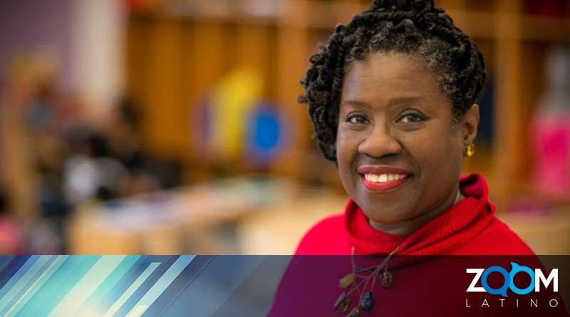 Kimberly Wilson fue galardonada como la maestra del año 2019