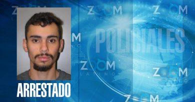 Un menor de 21 años es arrestado y acusado por posesión de arma de fuego