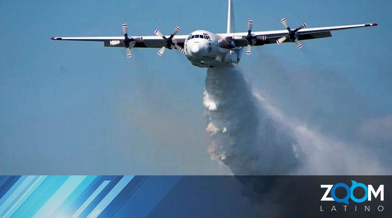 Estadounidenses mueren después de estrellarse un avión bombero