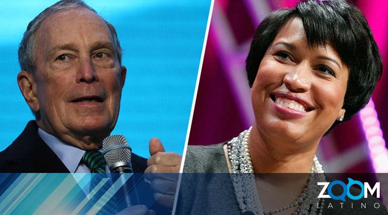 Candidatura para presidente de Mike Bloomberg es respaldada por la alcaldesa Bowser