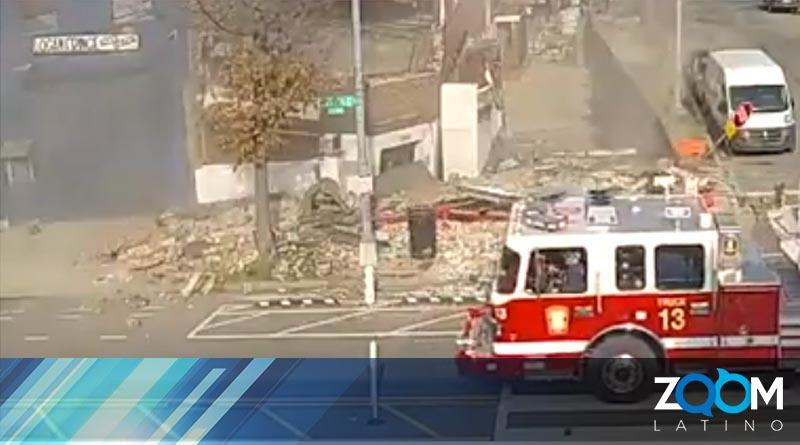 Edifició en construcción se derrumbó en DC