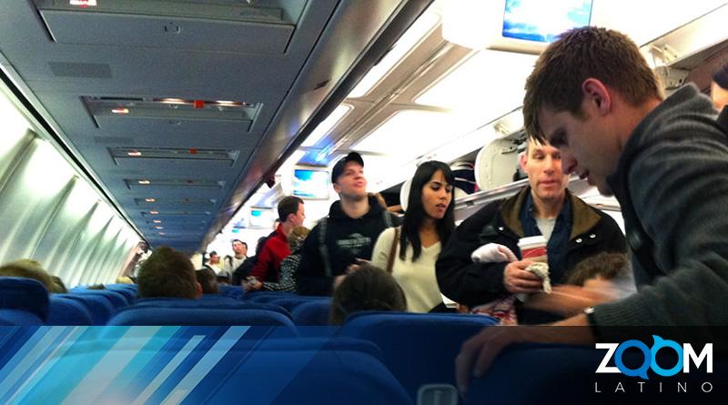 Un pasajero fue retirado de un vuelo como medida de precaución contra el coronavirus