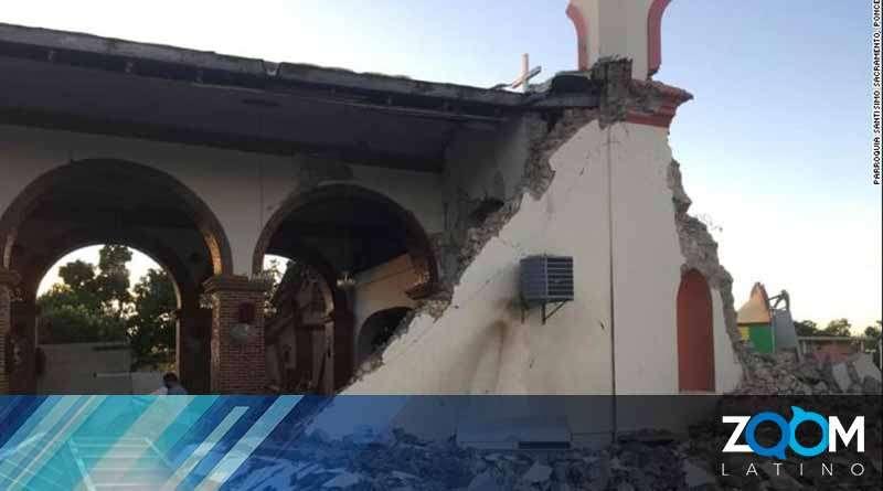 Puerto Rico fue azotado por un terremoto de 6.4 la mañana de este martes