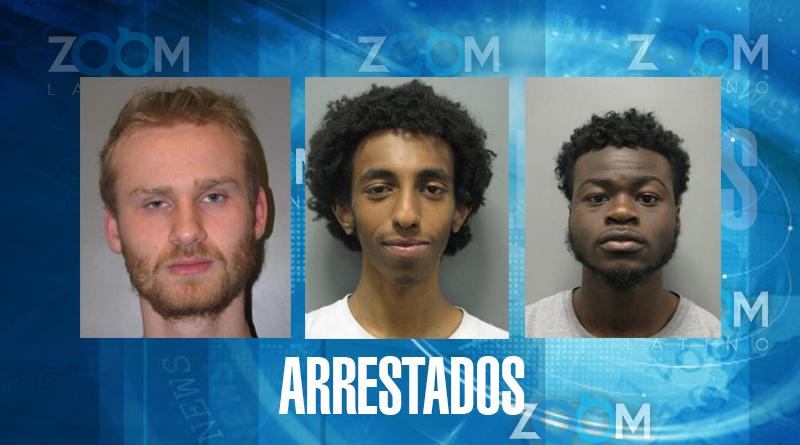 Oficiales arrestaron a 4 hombres luego de un intento de robo a una propiedad en Silver Spring