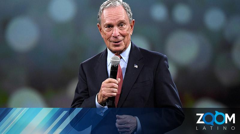 Candidato Mike Bloomberg presentó su programa de inmigración